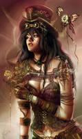 Steampunk Lady by Jennyeight