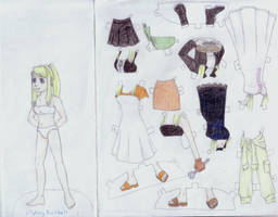Winry Paper Doll by koumori-no-hime