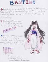 Basting Tutorial by koumori-no-hime