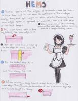Basic Hem Tutorial by koumori-no-hime