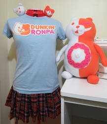 Dunkin' Ronpa Junko Cosplay Tutorial by koumori-no-hime