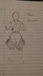 Hanzo Sketch by koumori-no-hime