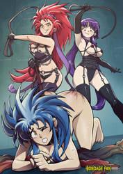 Ryoko Gets Whip, Lash by bondage-fan-comics