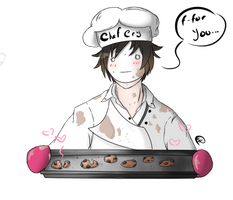 Chef Cry by MiloSenpai