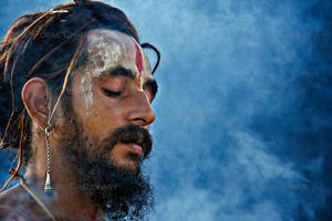 Deep in Meditation by poraschaudhary