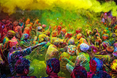 Rain of Yellow by poraschaudhary