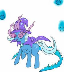 NO ONE DENIES TRIXIE by plasters-ponies