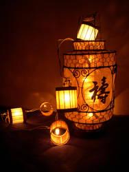 lanternes multiples by Kaede6