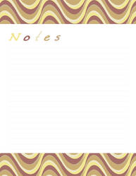 Notes - Sand Dunes by Defreve