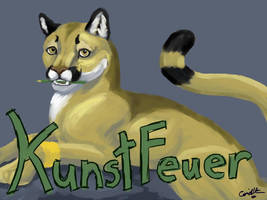 KunstFeuer Badge by lantairvlea