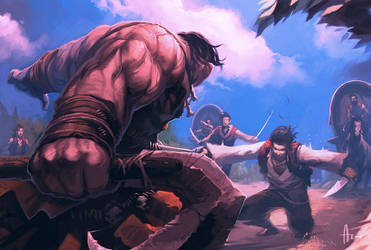 Gypsy vs Ogre by nJoo