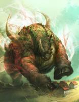 Trampling Beast by nJoo