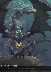 Lich Dragon by nJoo