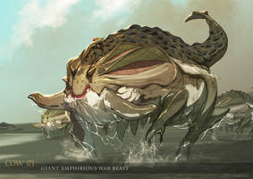 Mjolner - Amphibious War Beast by nJoo