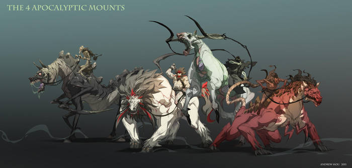4 Horsemen by nJoo