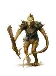 Thrall of Demogorgon by nJoo