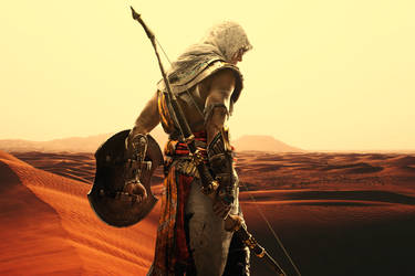 Bayek Of Siwa - Assassin's Creed by HammadTheArtist