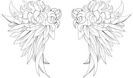 Angel Wings by aji-san