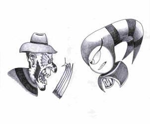 Freddy vs NiGHTS by Madhog