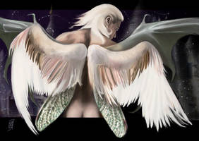 A Rush of Wings by brighnasa