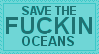 SAVE THE OCEAN by lgbtqia-stamps