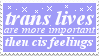 trans lives are more important by lgbtqia-stamps
