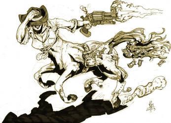 Cowgirl Centaur by Pedernoid