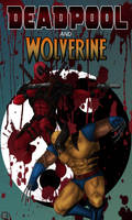 Deadpool and Wolverine by thesadpencil