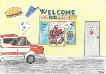 Welcome to the KO drive in! by LadyIronhide