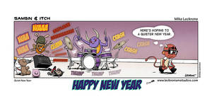 Quiet New Year by leckronium