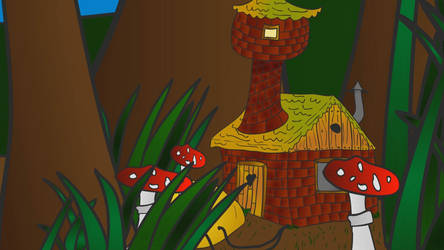 Dwarf's house. by Retrobot0r-RbR