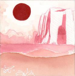 Desert Red by ArtistaRachel
