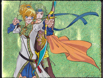 Haruka 4 - Chihiro and Futsuhiko Cel by GuardianRandyLimoges