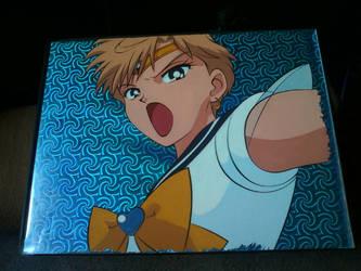 Sailor Uranus Cel Art by GuardianRandyLimoges