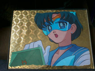 Sailor Mercury Cel Art by GuardianRandyLimoges