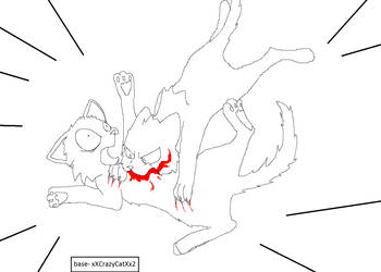 base cat fight by xXCrazyCatXx2