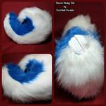 Tharon Husky Tail by FuzzButtFursuits