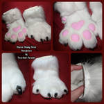 Tharon Husky Handpaws by FuzzButtFursuits