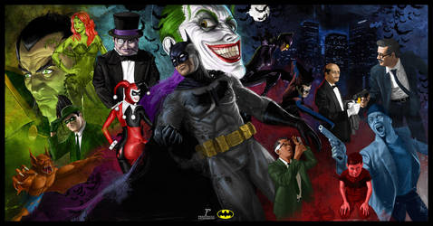 Batman Vengeance by Prestegui