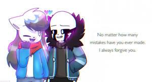 Always forgive you... by StarStriker501