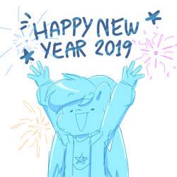 Happy New Year 2019! by StarStriker501