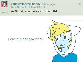 Ask Finn amd Jake 3: Old crush by StarStriker501