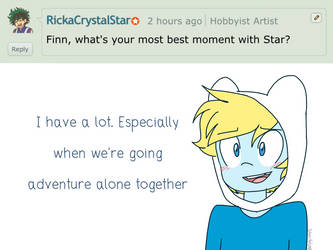 Ask Finn and Jake 2: Our moments by StarStriker501