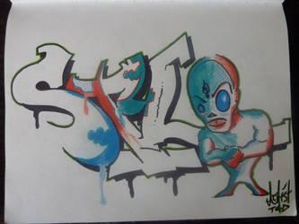 Alien Scum with Styl by Sempai-Tem