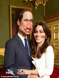 Royal Wedding Caricature by kiddac