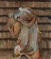 Book hunting by Reymonkey