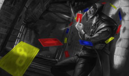 Twisted Fate ColorSplash by MrEstrain
