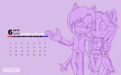 Calendar AT - Diana and Dylan by Rociogray