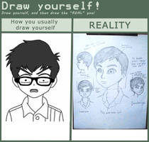 Draw Yourself Meme (Confessions) by roanalcorano