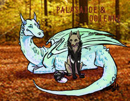 Palasaide and Odienne by fazzle